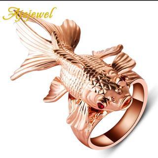新品◆金魚のリング(リング(指輪))