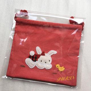 ファミリア(familiar)のfamiliar コップ袋(ランチボックス巾着)