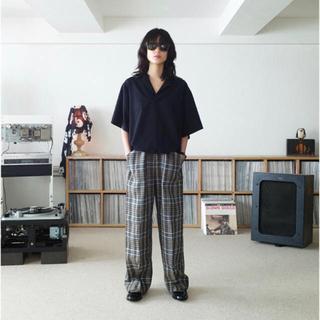 サンシー(SUNSEA)の19SS SUNSEA HARINUKI POLO(ポロシャツ)