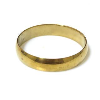 同時購入で300円 ステンレス指輪 アーチ ゴールド(リング(指輪))