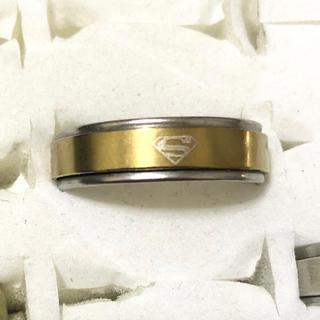 同時購入で300円 ステンレス指輪 スーパーマン(リング(指輪))