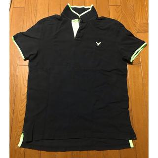 アメリカンイーグル(American Eagle)のAMERICAN EAGLE 半袖ポロシャツ size L アメリカンイーグル(ポロシャツ)