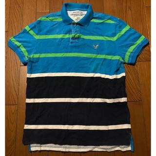 アメリカンイーグル(American Eagle)のAMERICAN EAGLE 半袖ポロシャツ size M アメリカンイーグル(ポロシャツ)