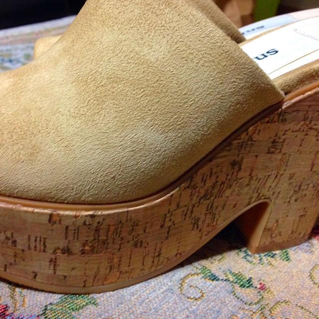 snidel(スナイデル)の2015ss♡コルクヒールサボ レディースの靴/シューズ(サンダル)の商品写真