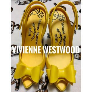 ヴィヴィアンウエストウッド(Vivienne Westwood)のヴィヴィアンウエストウッド×メリッサ  コラボ オープントゥ ヒール パンプス(ハイヒール/パンプス)