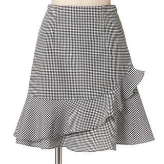フィント(F i.n.t)のフィント マーメイド ギンガムチェック スカート(ミニスカート)