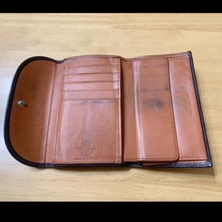 ホワイトハウスコックス(WHITEHOUSE COX)のホワイトハウスコックス  ダービーコレクション  革素材 ホースハイド(馬革)(折り財布)