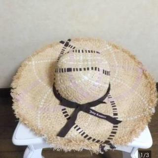 カシラ(CA4LA)のレア物☆ジューシークチュール☆ストローハット☆リゾート帽子☆(ハット)
