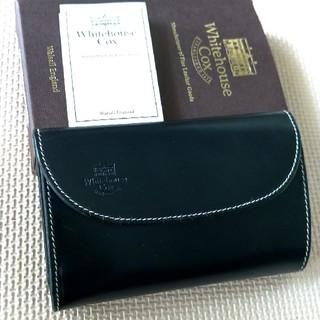 52506c2ba2ae ホワイトハウスコックス(WHITEHOUSE COX)のホワイトハウスコックス三つ折り財布(折り