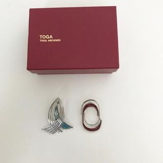 トーガ(TOGA)の【新品未使用】TOGA pulla pierce red mix(ピアス)