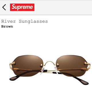 シュプリーム(Supreme)のRiver Sunglasses シュプリーム サングラス リバーサングラス(サングラス/メガネ)