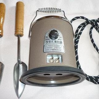 タキイ和裁電化こて 和裁コテ タキイ製ダイアル式  鏝2本付(アイロン)