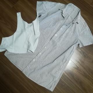 ムジルシリョウヒン(MUJI (無印良品))の半袖授乳服(マタニティトップス)