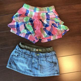 ブリーズ(BREEZE)の女の子 スカートセット 80-90 ブリーズ、ジャンクストア(スカート)