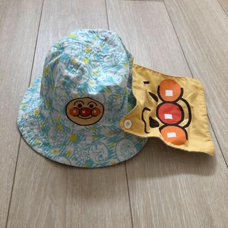 アンパンマン(アンパンマン)のアンパンマン 帽子 日よけ 保育園 幼稚園(帽子)