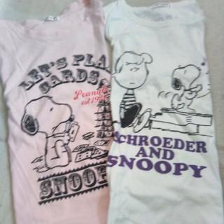 スヌーピー(SNOOPY)のスヌーピーTシャツ2点セット(Tシャツ(半袖/袖なし))