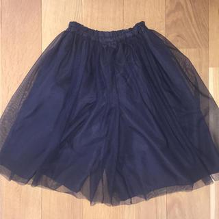 ジーユー(GU)の美品★GU  チュールスカートパンツ(スカート)