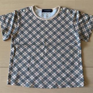 バーバリー(BURBERRY)のバーバリー  キッズ ベビー チェック 半袖Tシャツ(Tシャツ)