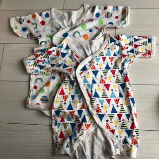 ニシマツヤ(西松屋)の新生児肌着2枚セット(肌着/下着)