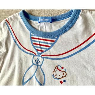 ファミリア(familiar)のfamiliar 110cm プリントTシャツ(Tシャツ/カットソー)
