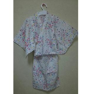 エフオーキッズ(F.O.KIDS)のアプレレクール 浴衣 110㎝(甚平/浴衣)