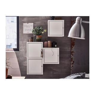 イケア(IKEA)のIKEA ボックスキャビネット LIXHULT ホワイト 6個セット(棚/ラック/タンス)