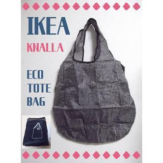 イケア(IKEA)のIKEA*エコバッグ トートバッグ*ポケッタブル 肩掛け*新品(エコバッグ)