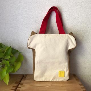 メルロー(merlot)の食パン型のトートバッグ(トートバッグ)
