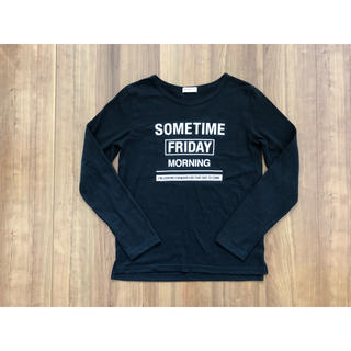 ベルメゾン(ベルメゾン)の160cm 黒ロゴTシャツ パペルラピス(Tシャツ/カットソー)