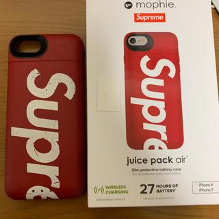 シュプリーム(Supreme)のSupreme/mophie iPhone 8 Juice Pack Air(iPhoneケース)