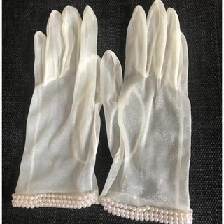 ヴェラウォン(Vera Wang)のプロノビアス(手袋)