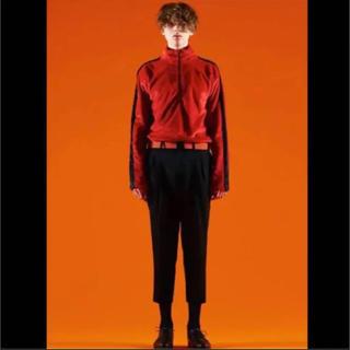 ジョンローレンスサリバン(JOHN LAWRENCE SULLIVAN)のLITTLEBIG Boa Half-Zip  color/RED(スウェット)