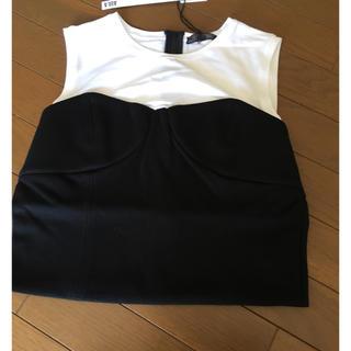 アウラアイラ(AULA AILA)のAULA  アウラ レイヤード ビスチェ トップス Tシャツ 新品未使用(Tシャツ(半袖/袖なし))