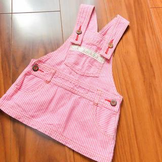 ニシマツヤ(西松屋)のピンク   ジャンスカ(ワンピース)
