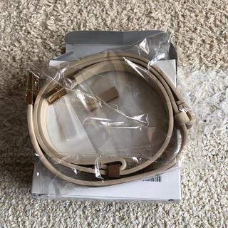 フェリシモ(FELISSIMO)のフェリシモ スライドパーツで簡単 リバーシブルベルト 新品未使用(ベルト)