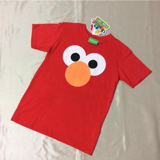 セサミストリート(SESAME STREET)の【新品】 セサミストリート エルモ 半袖 Tシャツ 160(Tシャツ/カットソー)