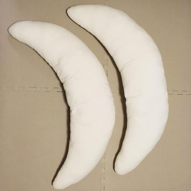 Francfranc(フランフラン)のFrancfranc フランフラン 抱き枕  授乳クッション 2個セット グレー キッズ/ベビー/マタニティの寝具/家具(枕)の商品写真