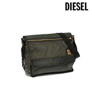 ディーゼル(DIESEL)のDIESEL ディーゼル ショルダーバッグ ブラック×モスグリーン(ショルダーバッグ)