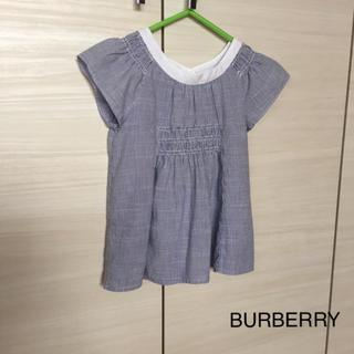 バーバリー(BURBERRY)のBURBERRY☆コットンブラウス(ブラウス)