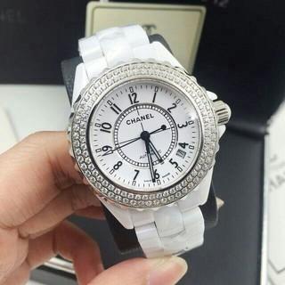 a4ded72a26d9 シャネル(CHANEL)のシャネル J12 ベゼルダイヤ自動巻きCHANEL(腕時計(アナログ