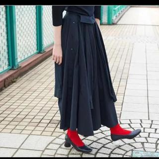 エンフォルド(ENFOLD)のENFOLDエンフォルド コレクションライン スカートパンツ 38(ロングスカート)