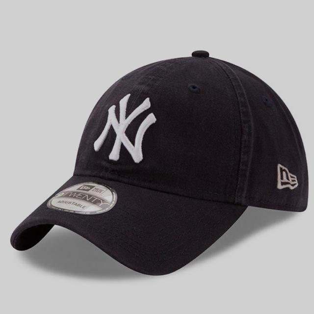 b9191bfc8b19f NEW ERA(ニューエラー)のニューエラ ヤンキース キャップ ネイビー NEWERA 9twenty レディースの帽子