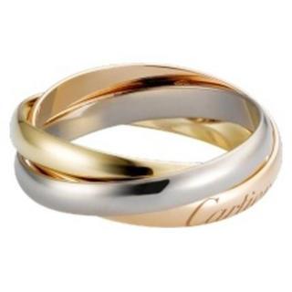 カルティエ(Cartier)のカルティエ リング 18Kゴールド 3連(リング(指輪))