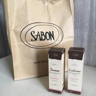 サボン(SABON)のサボングリーンローズシャンプーコンディショナー値下げ‼️(ヘアケア)