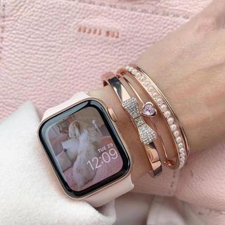 アップルウォッチ(Apple Watch)のApple Watch Series4 40mm GPS + CEL 新品(スマートフォン本体)