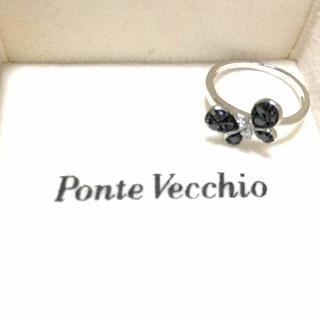 ポンテヴェキオ(PonteVecchio)のバタフライ ダイヤリングK 18 ポンテヴェキオ クーポン期間限定お値下げ(リング(指輪))