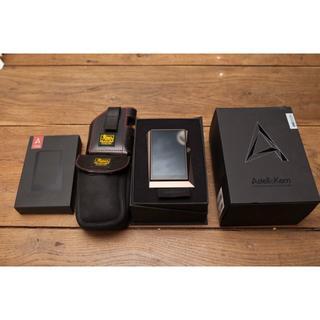 アイリバー(iriver)の保証残1年 Astell&Kern AK380 別売ケース・バンナイズ2種(ポータブルプレーヤー)