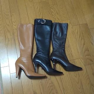 ダイアナ(DIANA)のDIANA ダイアナ  ロングブーツ 23.5   3足セット 中古品(ブーツ)