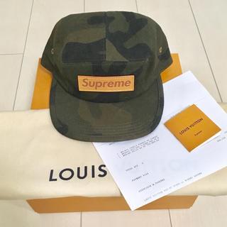 66ad5387 シュプリーム(Supreme)のSupreme LOUIS VUITTON Box Logo Camp Cap(キャップ)