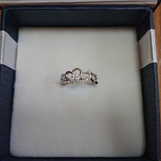 ジュエリーツツミ(JEWELRY TSUTSUMI)の値下げ!TSUTSUMI ツツミ ピンキーリング K10 ダイヤモンドリング(リング(指輪))
